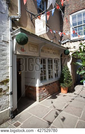 The Beatrix Potter, Tailor Of Gloucester Shop In Gloucester In The Uk, Taken On 24th April 2021