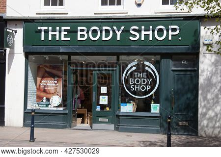 The Body Shop In Gloucester In The United Kingdom, Taken On 24th April 2021