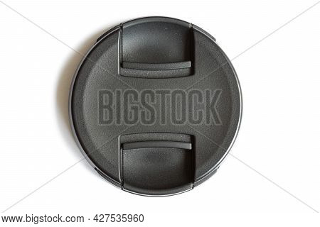 Cover For Protecting The Lens At The Camera Lens. Protective Cap For Camera Lenses.