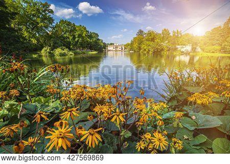 Lazienki Park - Baths Park Or Royal Baths Also Rendered Royal Baths Park Is The Largest Park In Wars