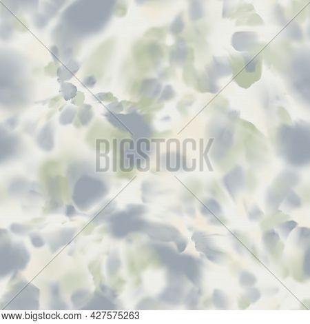 Seamless Pastel Swirl Splat Tie Dye Watercolor Pattern Swatch.