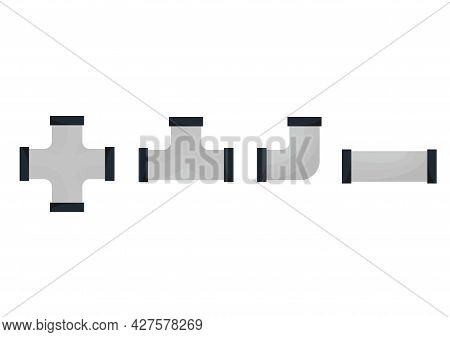 A Collection Of Pipe Illustrations With Various Types Of Pipes With Modern Designs