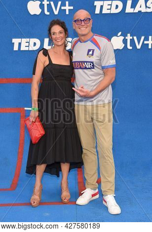 LOS ANGELES - JUL 15: Rex Chapman arrives for the Ted Lasso Season 2 Premiere on July 15, 2021 in West Hollywood, CA