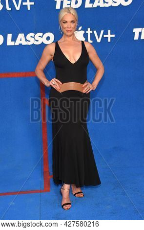 LOS ANGELES - JUL 15: Hannah Waddingham arrives for the ''Ted Lasso' Season 2 Premiere on July 15, 2021 in West Hollywood, CA