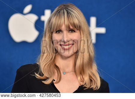 LOS ANGELES - JUL 15: Lucy Punch arrives for the Ted Lasso Season 2 Premiere on July 15, 2021 in West Hollywood, CA
