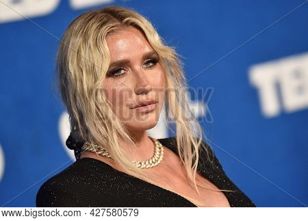 LOS ANGELES - JUL 15: Kesha arrives for the Ted Lasso Season 2 Premiere on July 15, 2021 in West Hollywood, CA