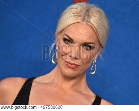LOS ANGELES - JUL 15: Hannah Waddingham arrives for the Ted Lasso Season 2 Premiere on July 15, 2021 in West Hollywood, CA