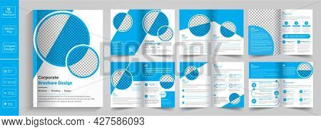 New Minimal Clean And Simple Multipage Business Brochure Template Layout Design,minimal & Clean Geom