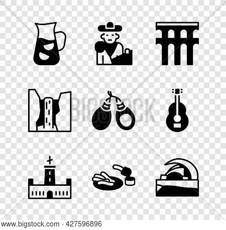 Set Sangria, Bullfight, Matador, Aqueduct Of Segovia, Montjuic Castle, Churros And Chocolate, Concer