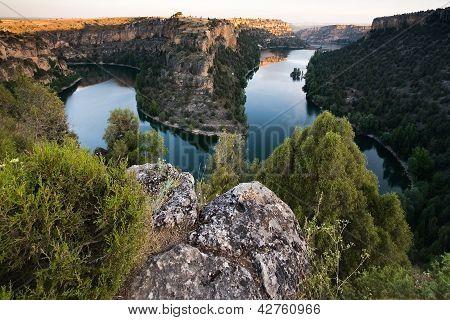 Natural Park Of Hoces Del Duraton, Segovia, Castilla Y Leon, Spain