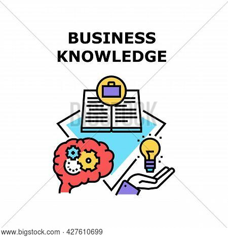 Business Knowledge Process Vector Icon Concept. Business Knowledge Process For Create Company Startu