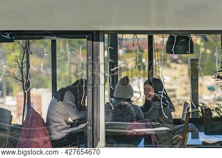 Coffee Shop, Lycabettus Hill, Athens