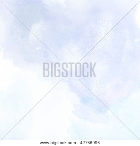 Blue Grunge Background Painting Texture
