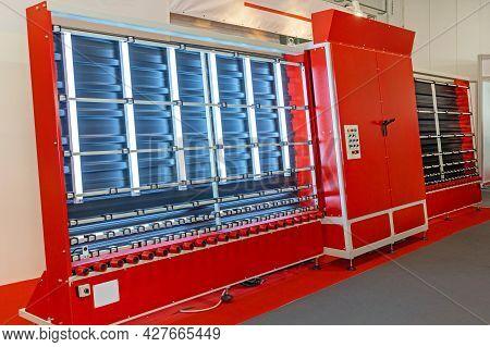 Pane Glass Washing And Drying Machine Equipment