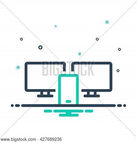 Mix Icon For Adaptive-interface Adaptive App Application Development Interface Internet Monitor Scre