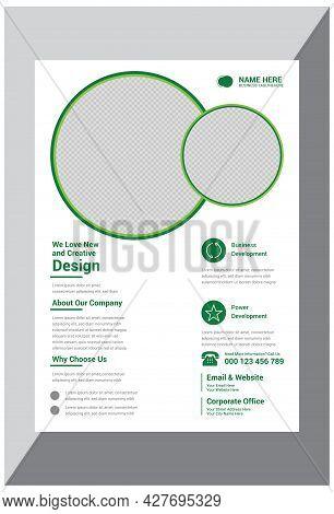 Promotional Creative Business Flyer Design Template Vector
