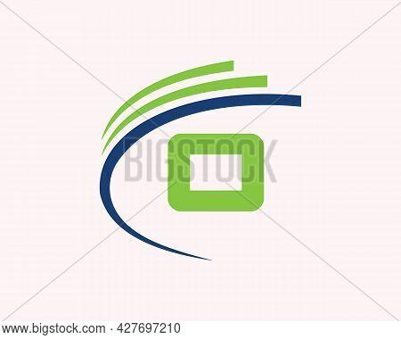 Initial O Logo Design. O Letter Logo Design For Business, Construction, Technology And Real Estate C