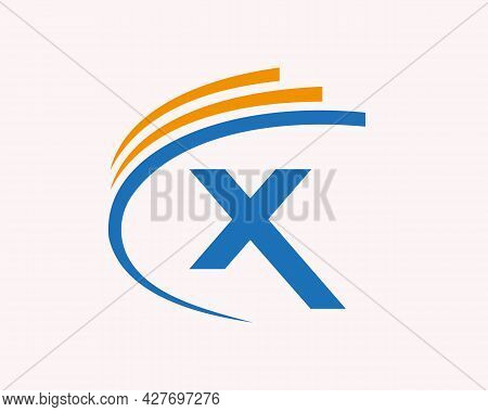 Modern X Logo. X Letter Logo Design For Business, Construction And Real Estate Concept