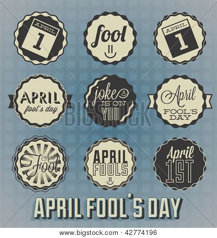 April Fool's Day Labels
