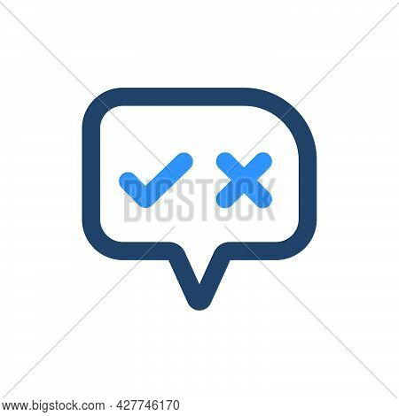 Decision Making Icon. Meticulously Designed Vector Eps File.