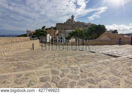 Town Of Ibiza In Ibiza Island (spain)
