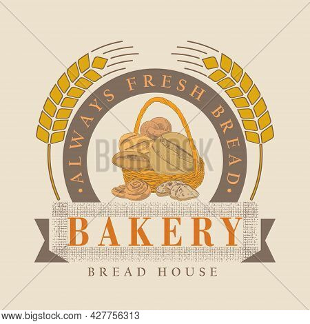 A Collection Of Bread And Bakery Confectionery Products. Rye, Wheat And Whole Grain Bread. French Ba