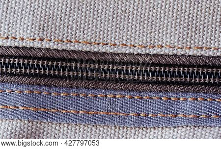 A Zipper, Zip, Fly, Or Zip Fastener, Known As A Clasp Locker, Is A Commonly Used Device For Binding