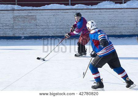 Hockey drible