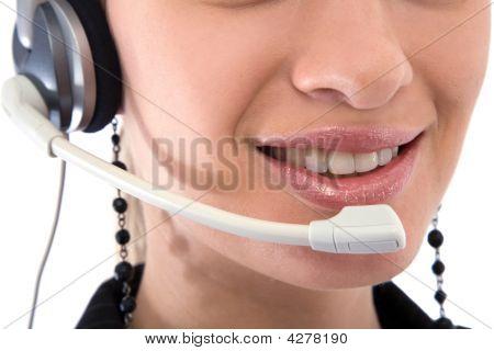 Call Center Operator Portrait