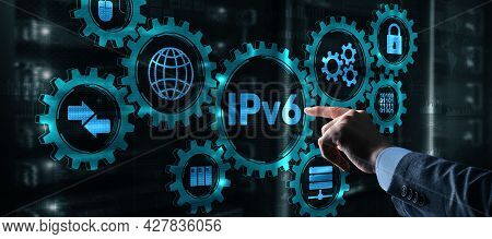 Internet Protocol Version 6 Ipv6. Connected Devices On Network