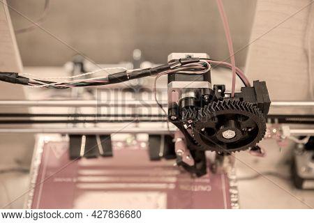 Self Made 3d Modern Electronic Three Dimensional Printer