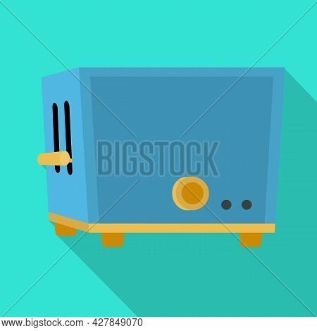 Vector Design Of Toaster And Kitchen Sign. Web Element Of Toaster And Oven Vector Icon For Stock.
