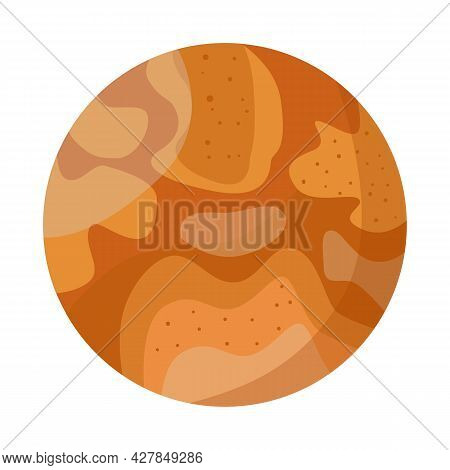 Vector Illustration Of Venus And Star Symbol. Graphic Of Venus And Sky Stock Symbol For Web.