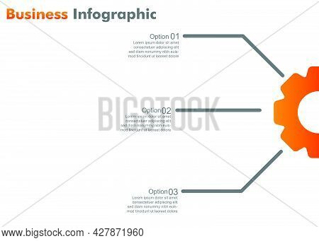 Business Infograpic Design Template. Vector Infographic . Perfect For Marketing, Promotion, Presenta