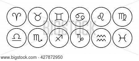 Line Zodiac Signs: Aquarius, Libra, Leo, Cancer, Pisces, Virgo, Capricorn, Sagittarius, Aries, Gemin