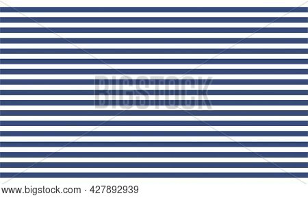 Striped, Marine Background. A Pattern Of Blue Horizontal Lines. Continuous Stripes Design For A Sail