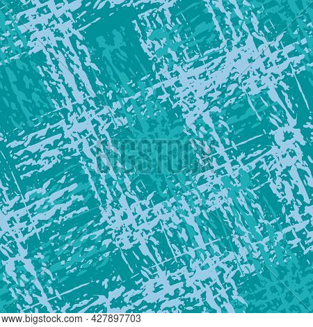 Upholstery Fabric Burlap Vector Seamless Pattern Background. Modern Faux Cotton Texture Melange Back