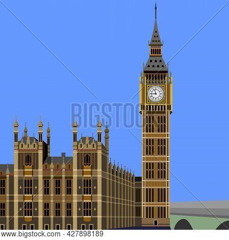 Big Ben Clock London United Kingdom Famous Building
