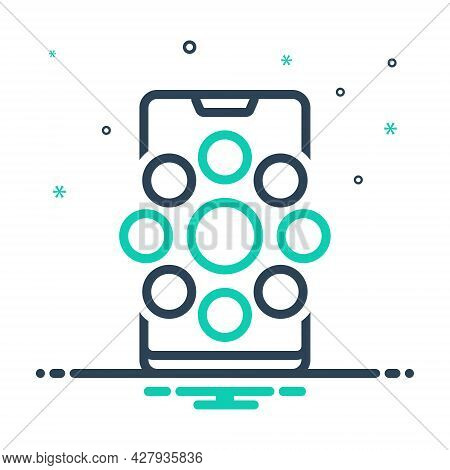 Mix Icon For Social-channels Social Channels Communication Socialize Technology Networking Internet