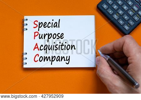 Spac, Special Purpose Acquisition Company Symbol. Words 'spac, Special Purpose Acquisition Company O