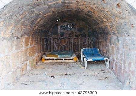 Housing In An Old Dugout