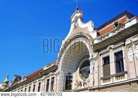 Architecture of Oradea, Romania, Europe