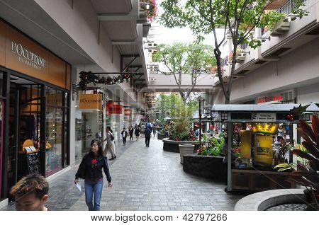 Ala Moana Center in Honolulu, Hawaii
