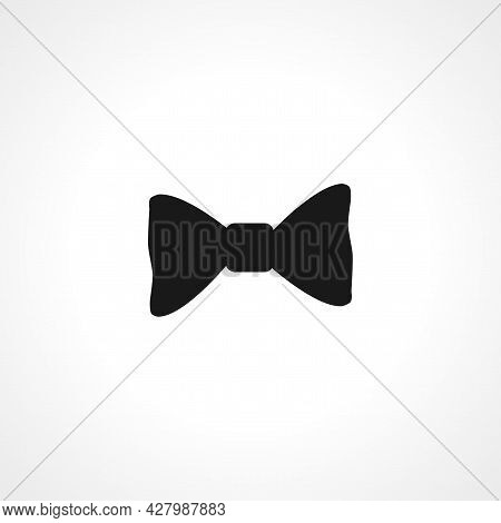 Bow Icon. Bow Simple Vector Icon. Bow Isolated Icon.