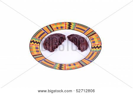 Split Chocolate Cookie