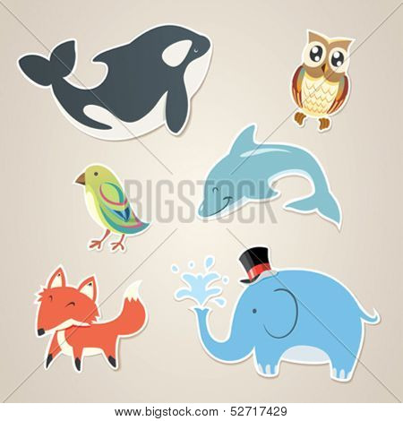 Animal Sticker