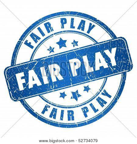 Fair play stamp