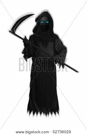 Dark Satan Halloween Black Devil Ghost isolated