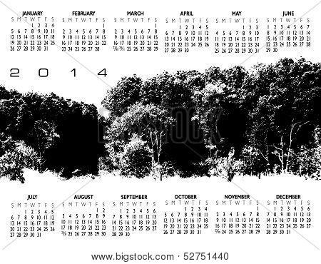 2014 Creative Woods Calendar