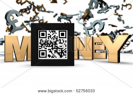 Money 3D Qr